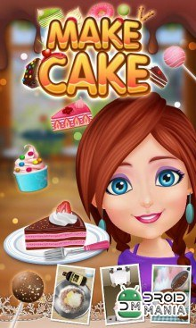 Скриншот Cake Maker Story - Cooking Game №1