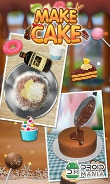 Скриншот Cake Maker Story - Cooking Game №3