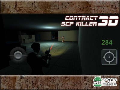 Скриншот Contract SCP Killer 3D №1