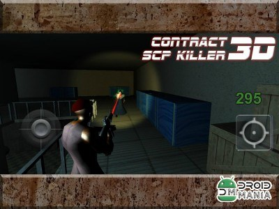 Скриншот Contract SCP Killer 3D №3