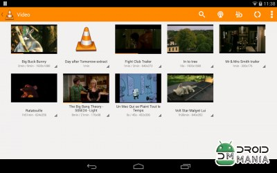 Скриншот VLC for Android №1