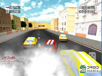 Скриншот 3D Racing Traffic - Drive Game №2