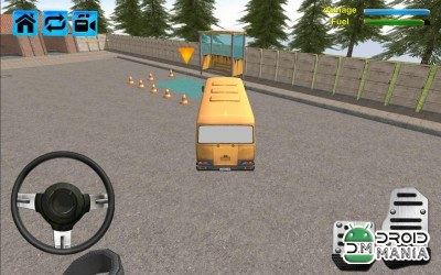 Скриншот Bus Driver School Simulator 3D №3