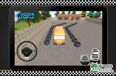 Скриншот Bus Driver School Simulator 3D №4