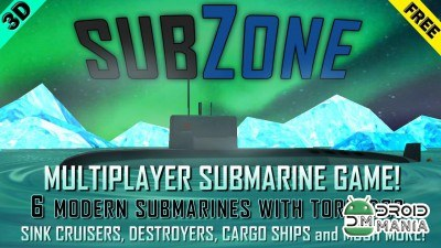 Скриншот SubZone - Multiplayer Sub Wars №1