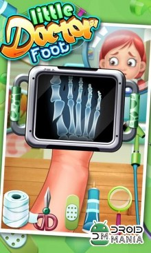 Скриншот Little Foot Doctor - kids games №2