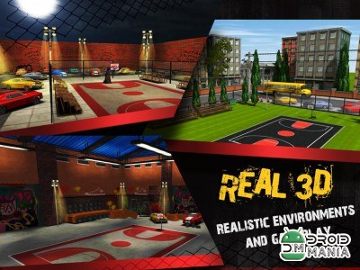 Скриншот Street Basketball X - Real 3D №3