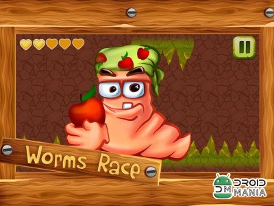 Скриншот Worms Race №3