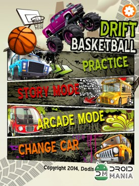 Скриншот Drift Basketball №2