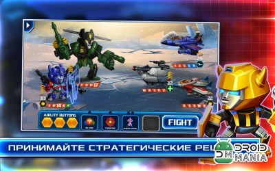 Скриншот TRANSFORMERS: Battle Tactics №2