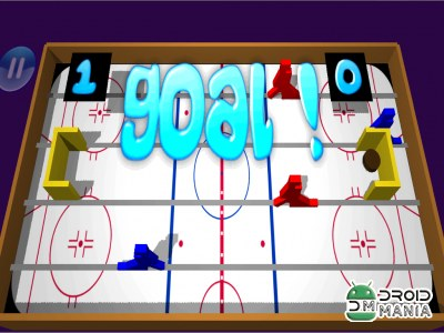 Скриншот Table Ice Hockey 3D №3