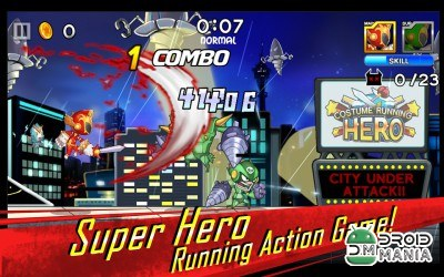 Скриншот Costume Running Hero №1