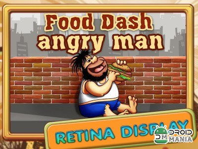 Скриншот Food Dash Angry Man №1
