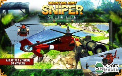 Скриншот Mountain Army Sniper Shooter №1