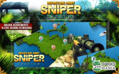 Скриншот Mountain Army Sniper Shooter №3