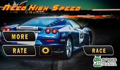 Скриншот Need High Speed: Car Racing 3D №1
