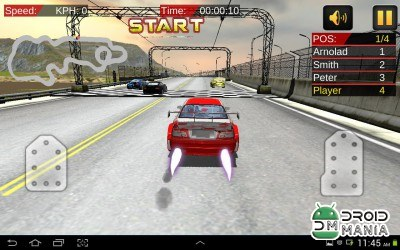 Скриншот Need High Speed: Car Racing 3D №2