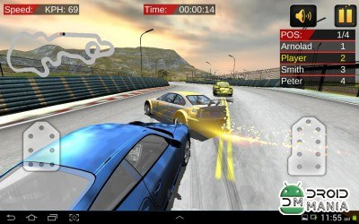 Скриншот Need High Speed: Car Racing 3D №4