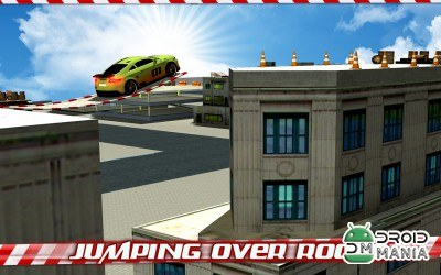 Скриншот Crazy Car Roof Jumping 3D №1