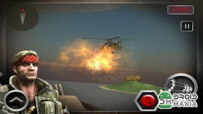 Скриншот Navy Helicopter Gunship War 3D №2