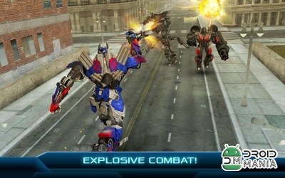 Скриншот TRANSFORMERS: BATTLE GAME №1