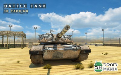 Скриншот Battle Tank 3D Parking / Боевой Танк 3D Парковка №1