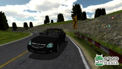 Скриншот Russian Car Lada Racing 3D №3