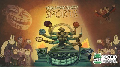 Скриншот Trollface Quest Sports puzzle №1