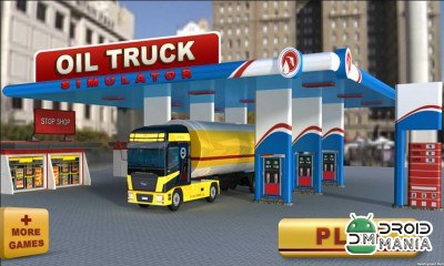Скриншот Oil Truck Simulator 3D №1