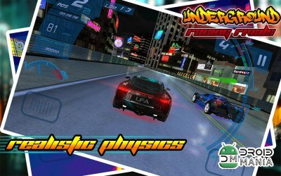 Скриншот Underground Racing Rivals №2