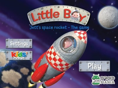 Скриншот Jett's space rocket : The game №1