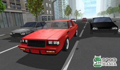 Скриншот Traffic Street Racing: Muscle №1