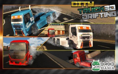 Скриншот Real City Truck Drift Racing №3