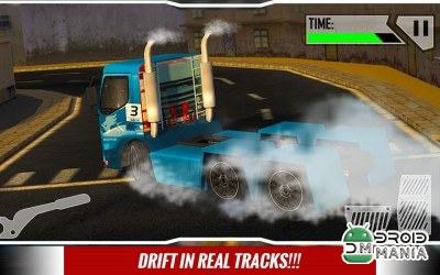 Скриншот Real City Truck Drift Racing №4