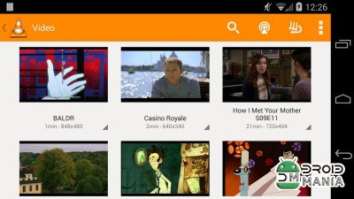 Скриншот VLC for Android №4