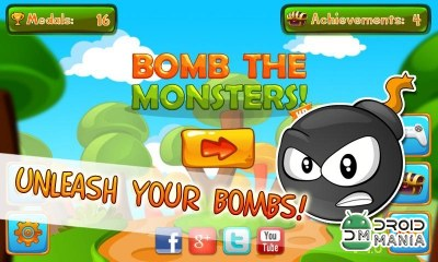 Скриншот Bomb the Monsters! №1