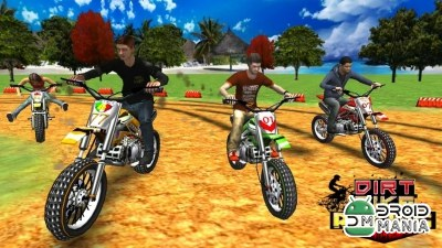 Скриншот Dirt Bike Racing 3D №3