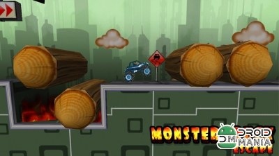 Скриншот Monster Truck Escape - Puzzle №4