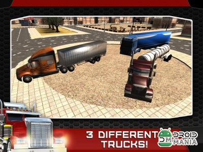 Скриншот 3D Trucker - Driving and Parking Simulator №3