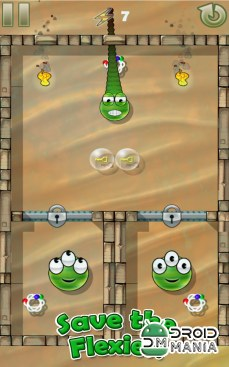 Скриншот Flexy Frogs Full Free №3