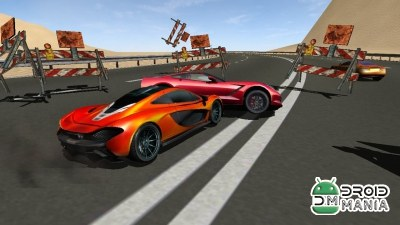 Скриншот Highway Impossible 3D Race Pro №1