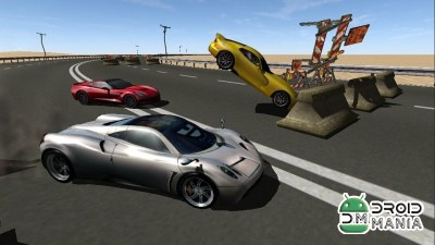 Скриншот Highway Impossible 3D Race Pro №2