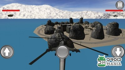 Скриншот Helicopter Base Attack 3D №2