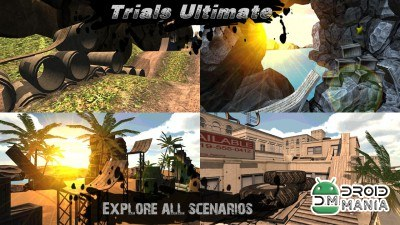Скриншот Trials Ultimate 3D HD №2