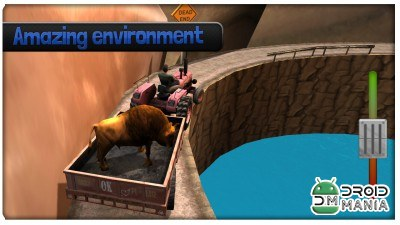 Скриншот Hill Climb Racing Animals №2
