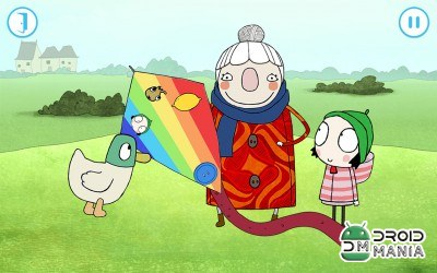 Скриншот Sarah & Duck - Day at the Park №4