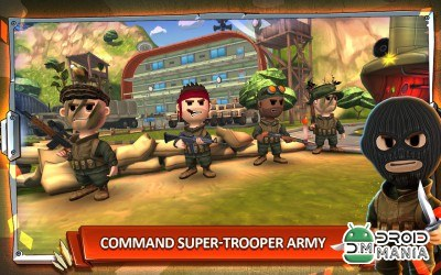 Скриншот Pocket Troops №2