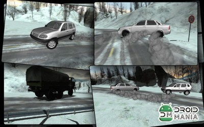 Скриншот Russia Snow Road Simulator №2