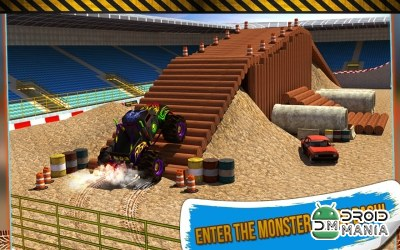 Скриншот 4x4 Monster Truck Stunts 3D №2