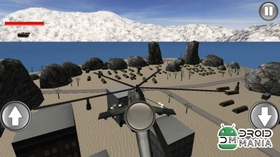 Скриншот Helicopter Base Attack 3D №3
